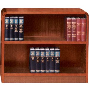 Classic Radius Bookcase, Steel Reinforced