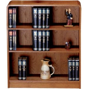 Classic Radius Bookcase, Steel Reinforced