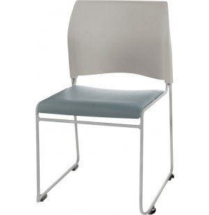 Cafetorium Stacking Chair - Padded Seat