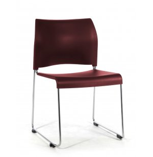 Cafetorium Stacking Chair - Plastic Seat