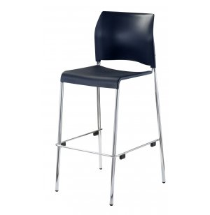 Cafetorium Stacking Bar Stool - Custom Colors