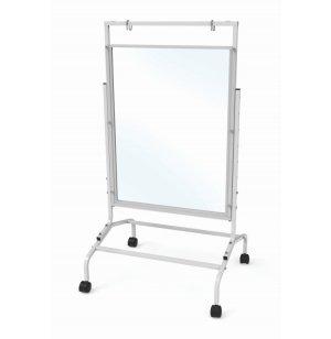 Clear Dry-Erase Room Divider
