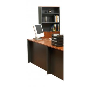 Tall Office Bookcase with Doors