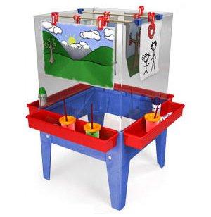 4-Station Paint Center Toddler