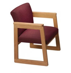 Tapered Arm Chair - Gr. 3 Fabric
