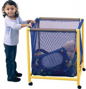 Mobile Mesh Toy Box