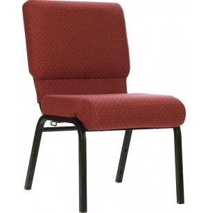 Church Chair with Enclosed Back