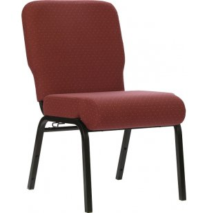 Church Chair with Radius Back