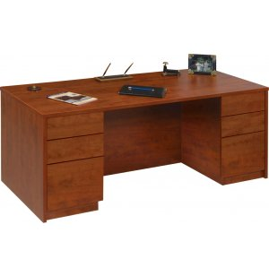 Accomplish Managerial Desk Full Pedestal
