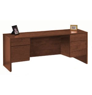 Accomplish Office Computer Credenza - 3/4 Pedestals