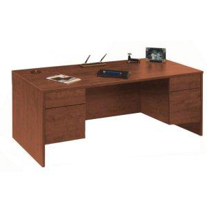 Executive Desk 3/4 Pedestal