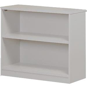 Bookcase with Solid Back w/1 Shelf