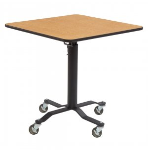 Square Cafe Time II Table - MDF, ProtectEdge