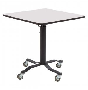 Square Cafe Time II Table - Whiteboard Top