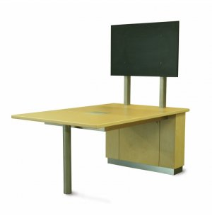"Crayon 29""H Media Table"