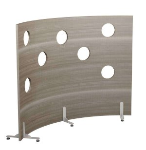 Cheesewall Modular Room Divider with Observation Ports