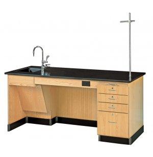 ADA Instructors Desk - Epoxy Top