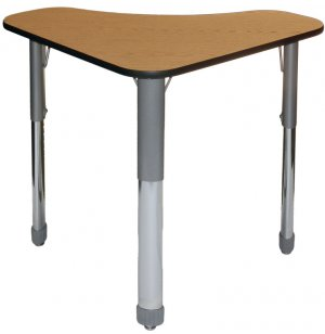Delta Student Desk - 3/4in. Thick Particleboard Top