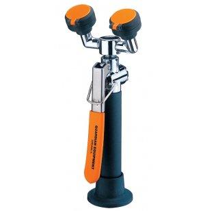 Deck-Mounted Eyewash w/ vacuum breaker