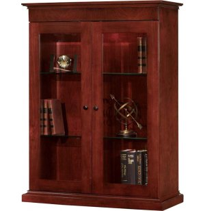 Del Mar Closed Bookcase for File