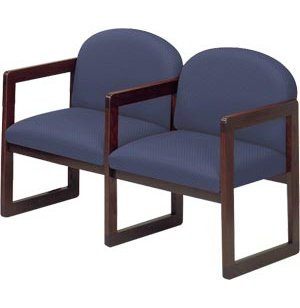 Seating with Upgraded Fabric and Arms