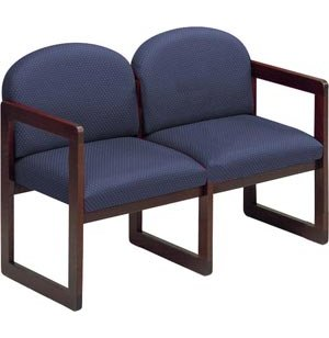 Seating with Upgraded Fabric