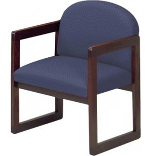 Decorators Paradise Arm Chair with Upgrade Fabric
