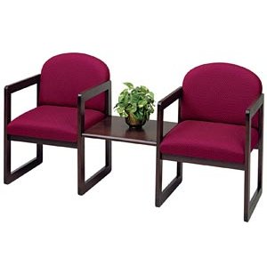 Arm Chairs with Center Table