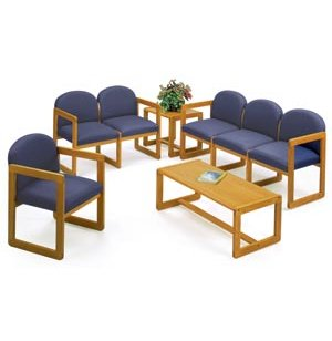 Grouped Chairs with Upgraded Fabric