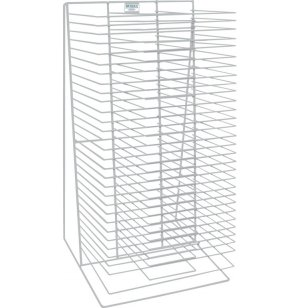 Tabletop Drying Rack - Single Sided - 30 Shelves