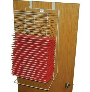 Walldoor Drying Rack 30 Shelves 12x18 Art Drying Racks