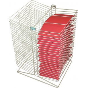 Tabletop Drying Rack - 50 Shelves
