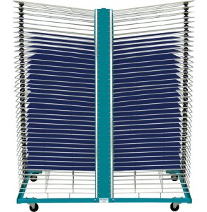 Port-O-Rack Drying Rack - 80 Shelves