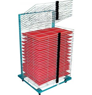 Port-O-Rack Drying Rack - 40 Shelves