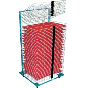 Port-O-Rack Drying Rack - 50 Shelves