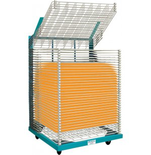 Heavy-Duty Drying Rack - 50 Shelves