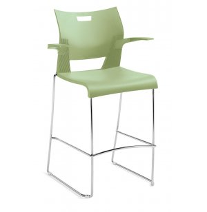 Duet Bar Stool with Arms