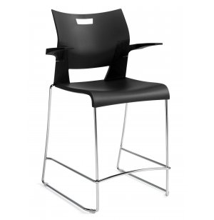 Duet Counter Stool with Arms