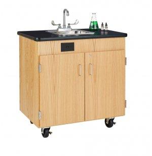 Hot Water Mobile Washing Station