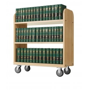 Heavy Duty Book Cart