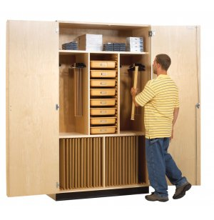 Drafting Supply and Storage Cabinet