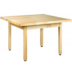 Four-Student Square School Table
