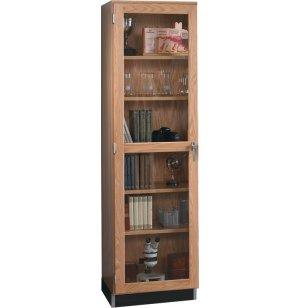 Lab Storage Case with Glass Door