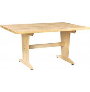 Planning Art Table with Solid Maple Top