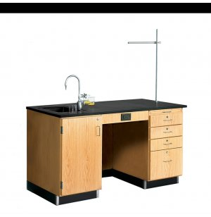 Science Lab 5' Instructor Desk