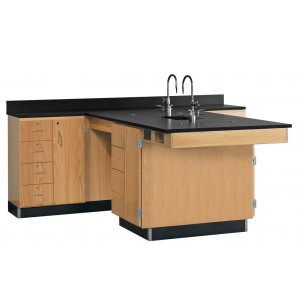 Perimeter Science Lab Workstation w/1 Door 4 Drawers