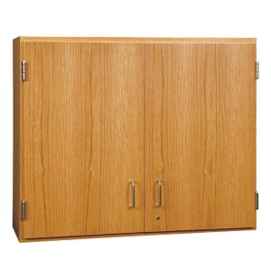 Wall Cabinet with Solid Oak Doors