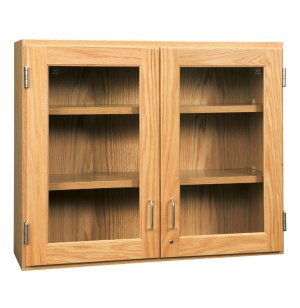Wall Cabinet with Glass Doors