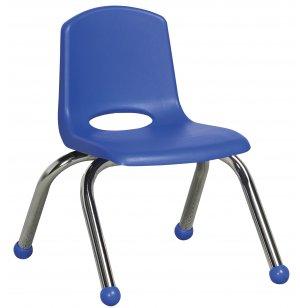 ECR Poly Classroom Chair - Chrome Legs