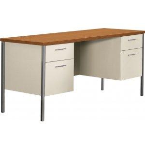 Steel Double-Pedestal Teachers Desk